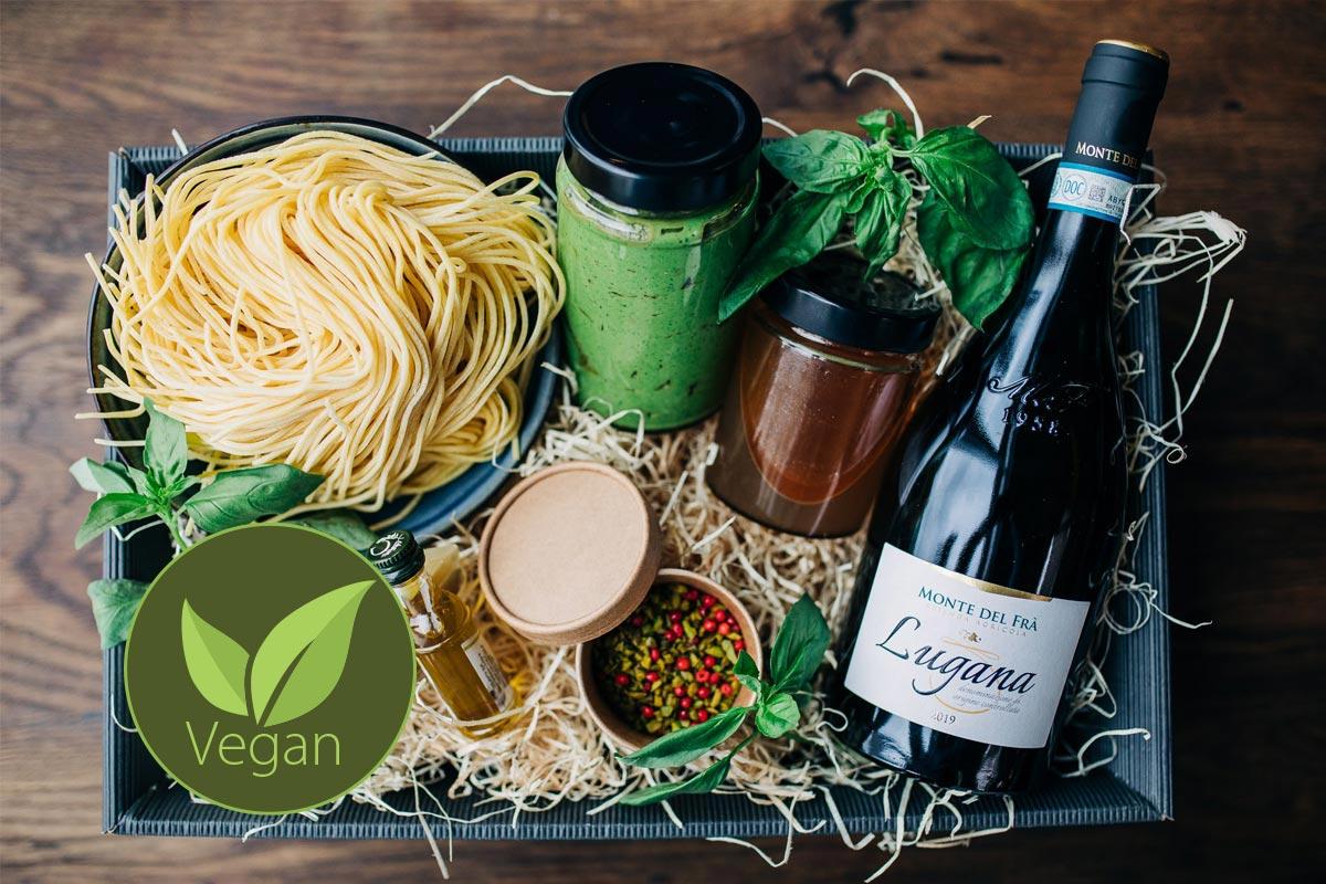 Vegane Pesto Box